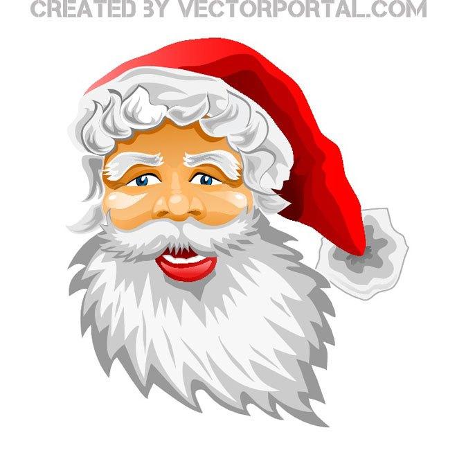 660x660 Santa Claus Image Free Vector 123freevectors
