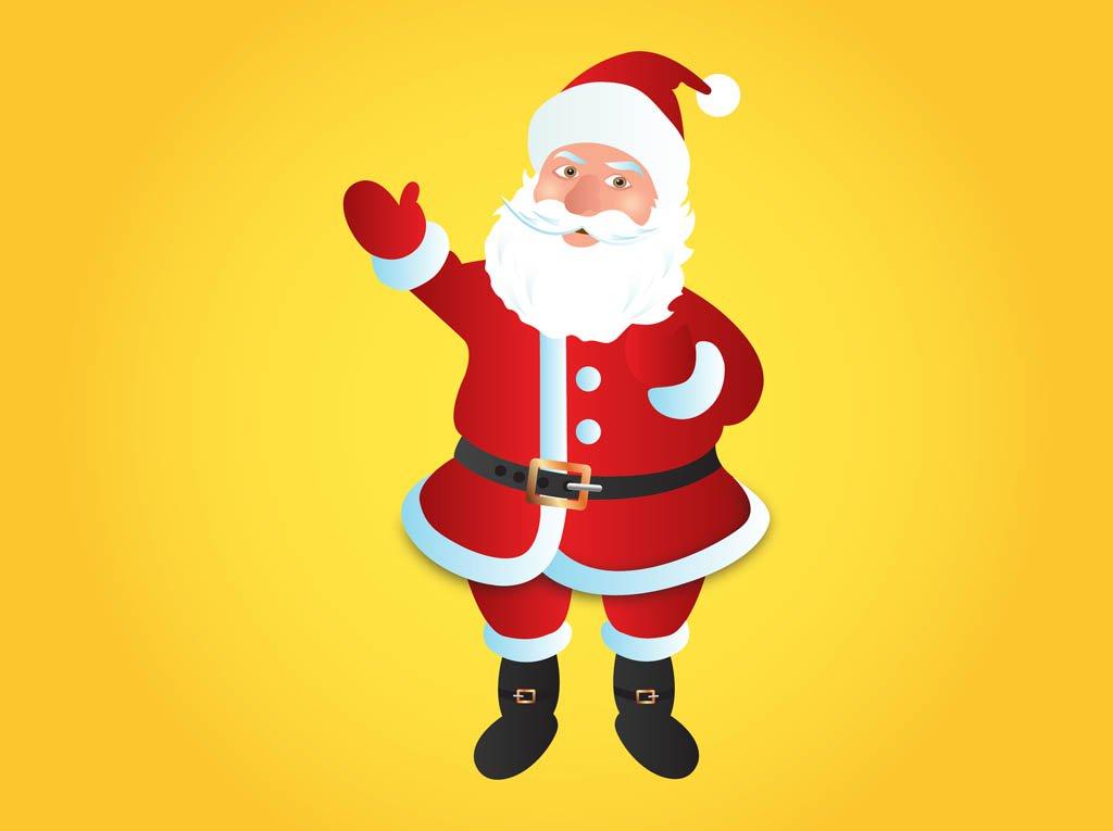 1024x765 Santa Claus Vector Vector Art Amp Graphics