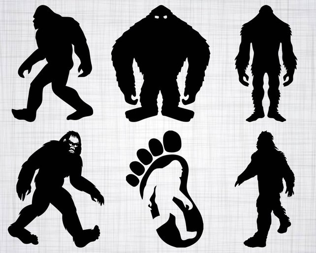 642x514 Bigfoot Svg Bundle Sasquatch Svg Bigfoot Clipart Bigfoot Etsy