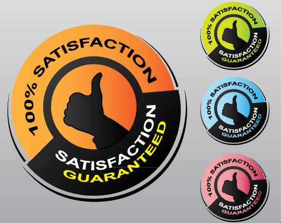 546x435 Badge Satisfaction Guaranteed Free Vector By Pic2graf