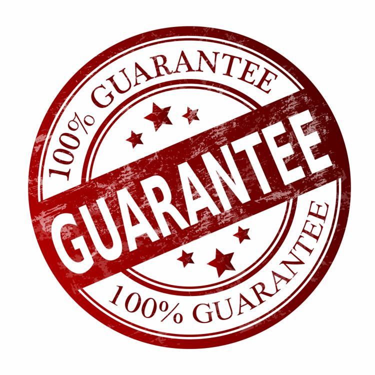 750x750 Satisfaction Guarantee Label 02 Vector Free Vector 4vector