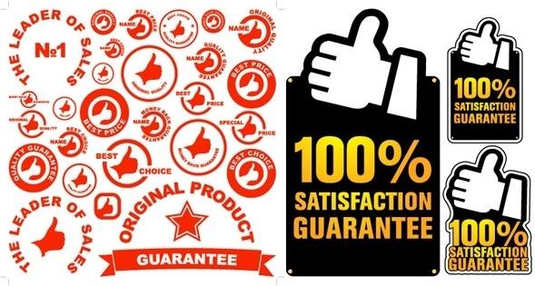 589x315 100 Percent Guarantee Free Vector Download (903 Free Vector) For