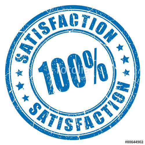 500x500 100 Satisfaction Guarantee Stamp Stock Image And Royalty Free