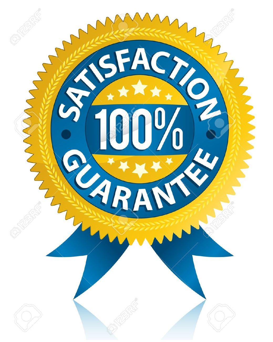1039x1300 9649005 Satisfaction Guarantee Label Stock Vector Blue