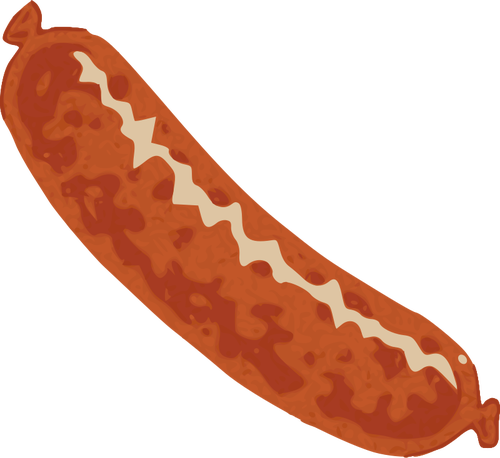 500x458 Sausage Vector Drawing Public Domain Vectors