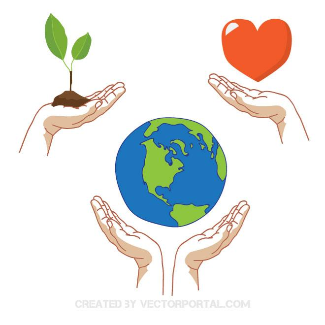 660x660 Save The Planet Vector Graphics