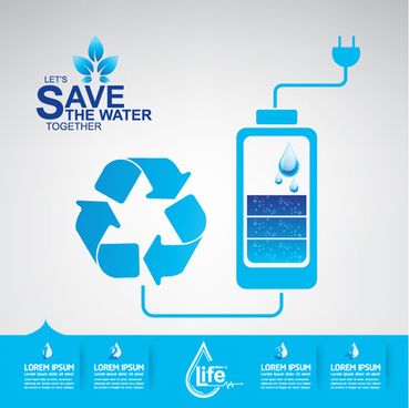 369x368 Save Water Free Vector Download (2,913 Free Vector) For Commercial