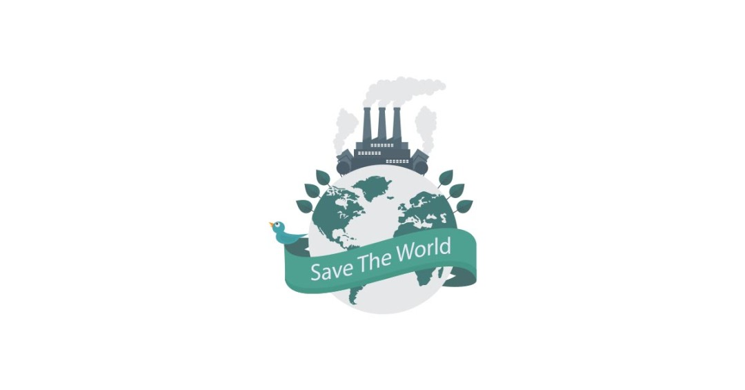 1080x565 Eco Sign Save The World Vector And Transparent Png The Graphic