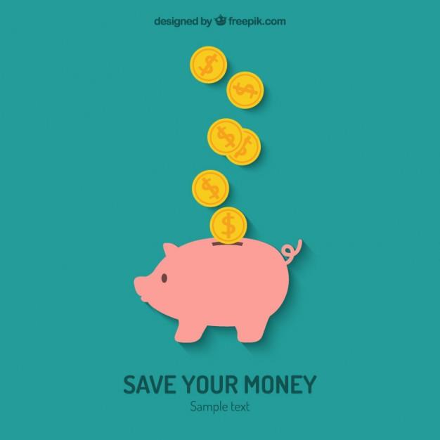 626x626 Save Your Money Vector Premium Download