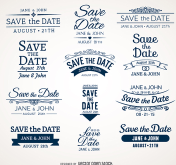 352x330 Vector Save The Date Wedding Lettering Free Vector Download 157035