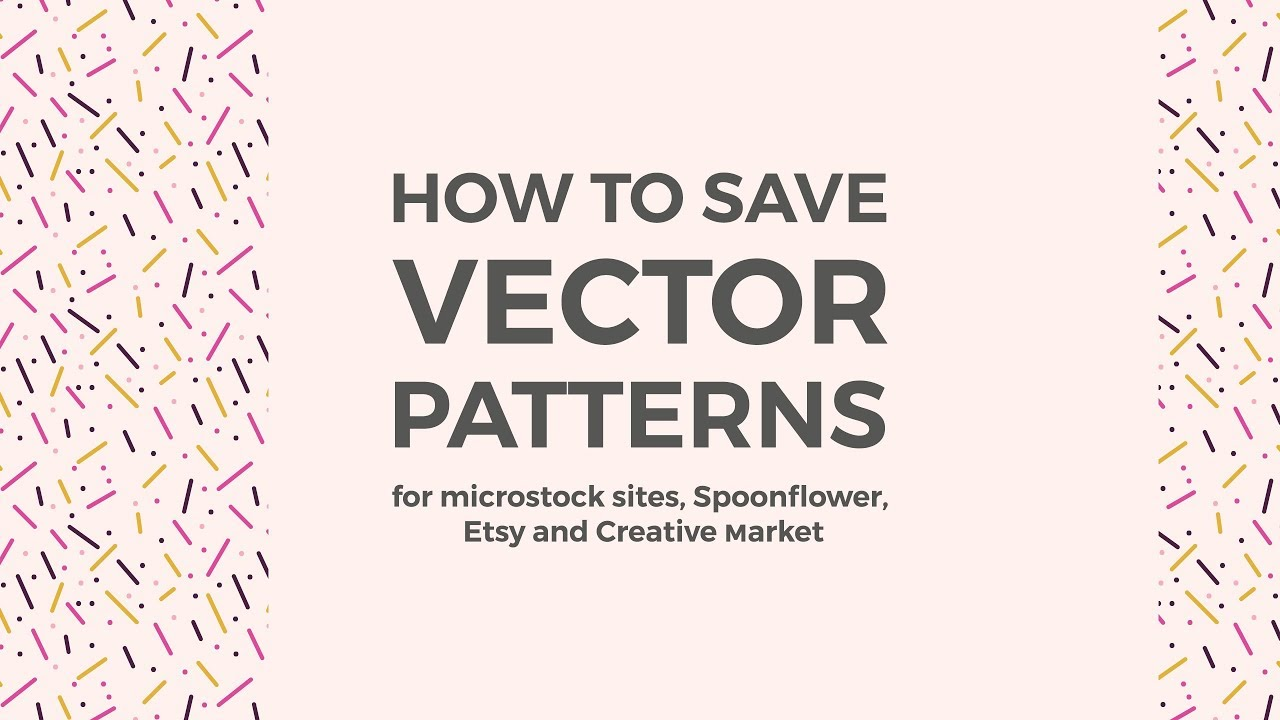 1280x720 How To Save Seamless Vector Patterns In Illustrator