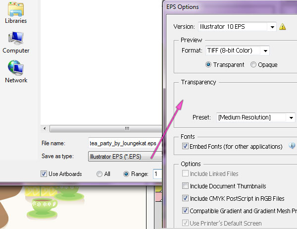 600x462 Quick Tip How To Organize And Save A Vector File
