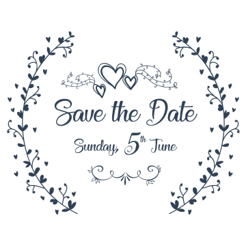 save the date vector at getdrawings com free for personal use save