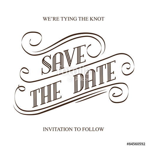 500x500 Save The Date Stock Image And Royalty Free Vector Files On