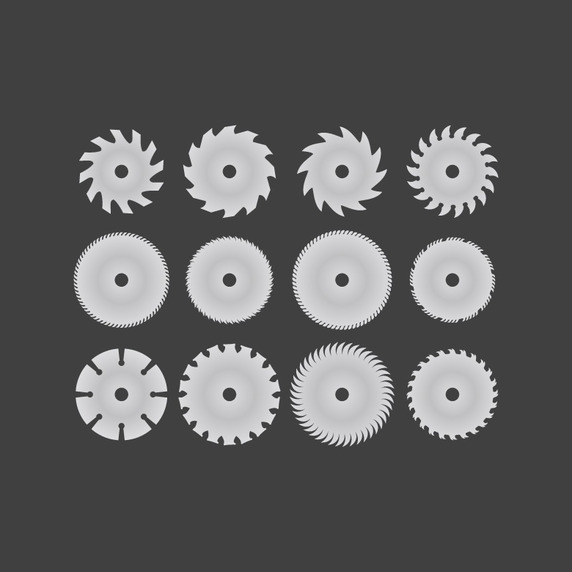 Saw Blade Vector Free Download