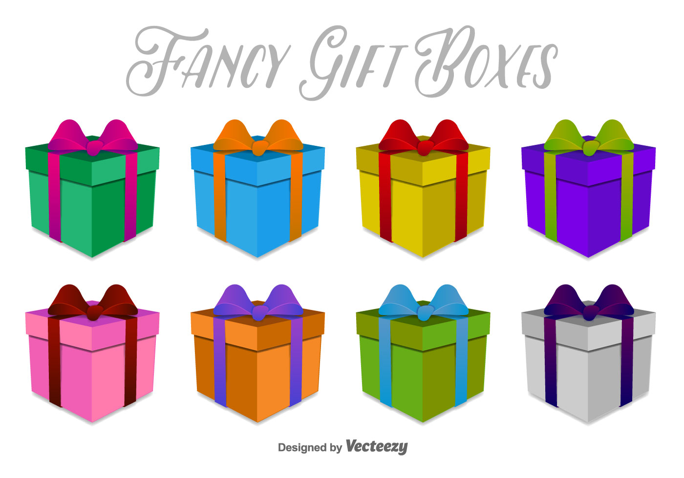 1400x980 Gift Box Free Vector Art