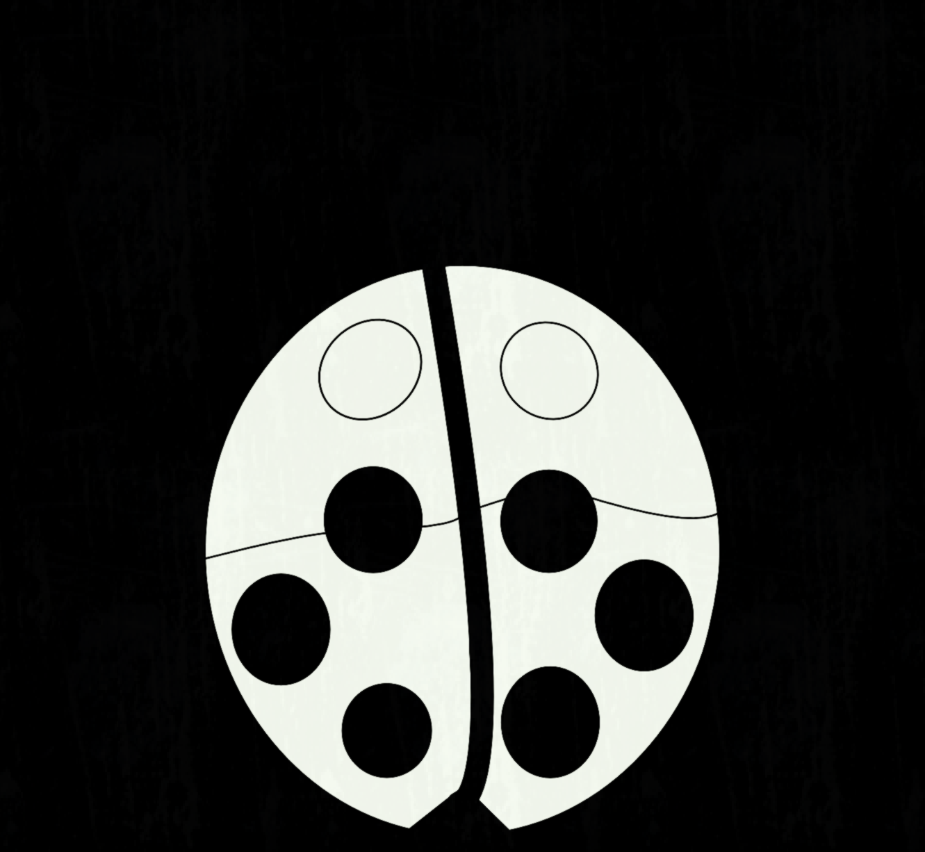 1331x1226 Ladybug Black White Line Art Flower Scalable Vector Graphics Free