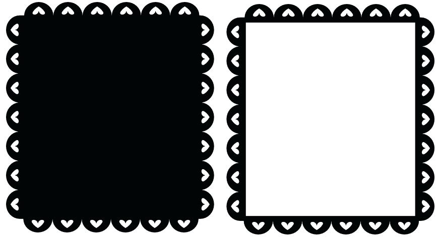 873x474 Scalloped Picture Frames Vector Frame Scalloped Frame X Hbmcclure.co