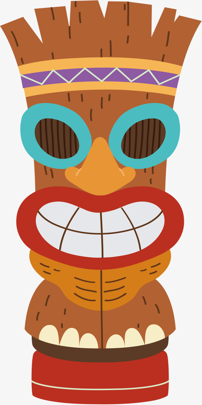 650x1300 Hawaii Scarecrow, Vector Png, Scarecrow, Show Your Teeth Png And