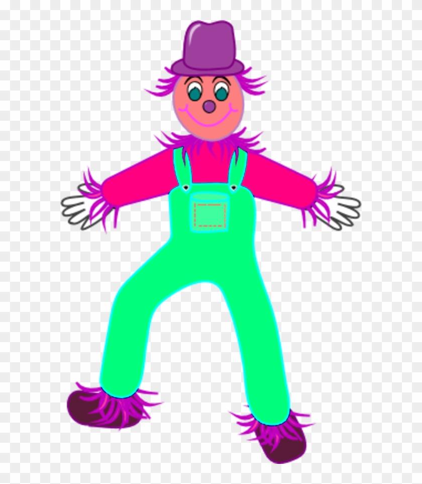 840x962 Scarecrow Vector Clip Art