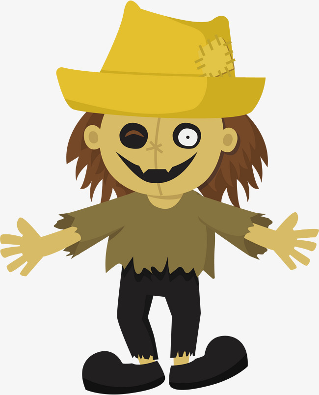 650x804 Terror Scarecrow, Vector Png, Scarecrow, Terror Png And Vector For