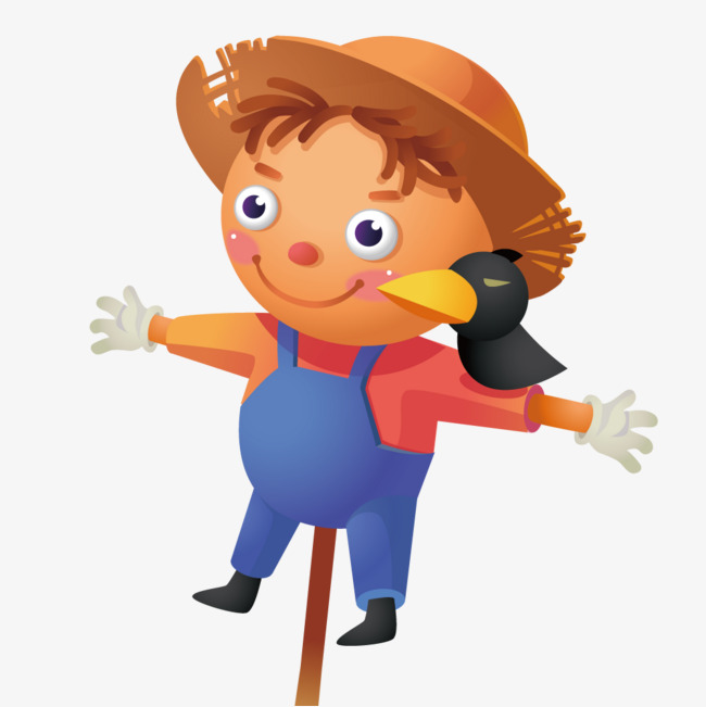 650x651 Cute Scarecrow, Scarecrow, Vector Elements, Lovely Png And Vector