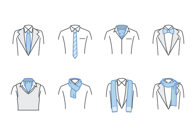 632x443 Free Neck Tie And Scarf Vector Free Vector Download 383697 Cannypic