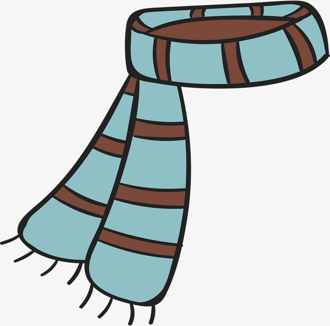 650x643 Green Stripe Scarf, Green Vector, Vector Png, Keep Warm Png And