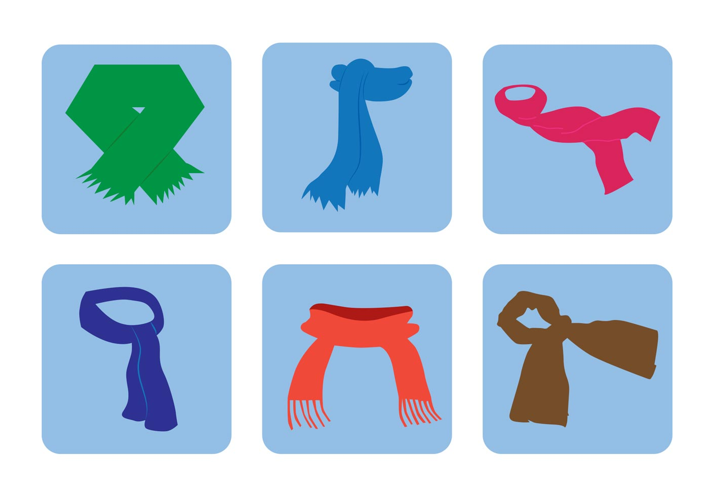1400x980 Knitted Scarf Free Vector Art