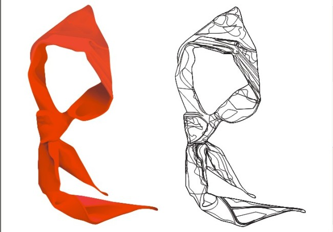 Scarf Vector at GetDrawings com | Free for personal use