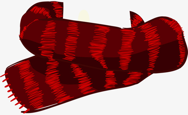 650x400 Vector Painted Red Scarf, Vector, Hand Painted, Red Scarf Png And