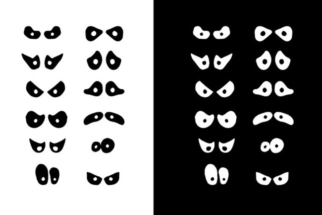 650x433 Spooky Eyes Vectors