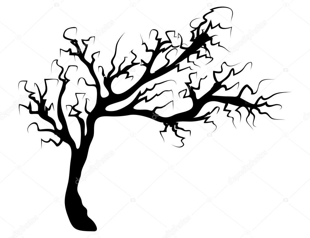 1023x787 15 Bare Clipart Spooky Tree For Free Download On Mbtskoudsalg