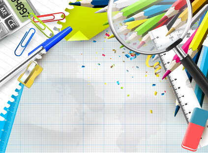 423x313 Background Of School Objects Free Vector Download (51,114 Free