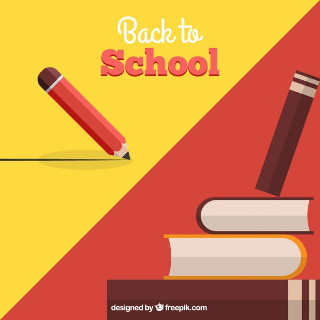 626x626 Back To School Background Free Vector 123freevectors
