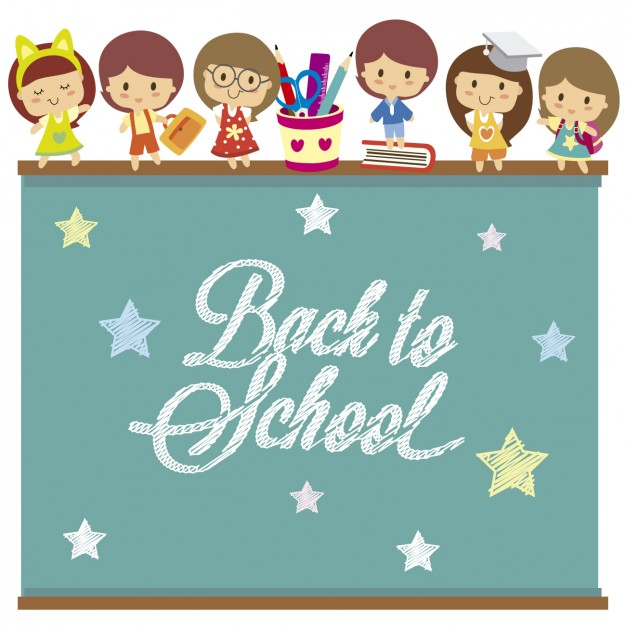 626x626 Back To School Background Vector Free Download