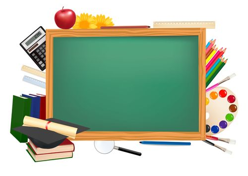 500x356 School Background Vector