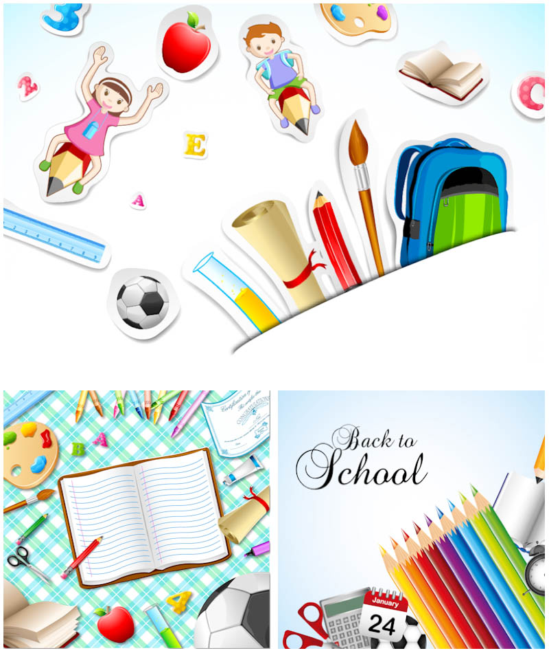 800x950 Back To School Background Templates Vector Vector Graphics Blog