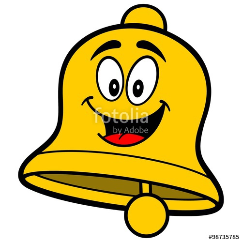 500x500 School Bell Cartoon Stock Image And Royalty Free Vector Files On