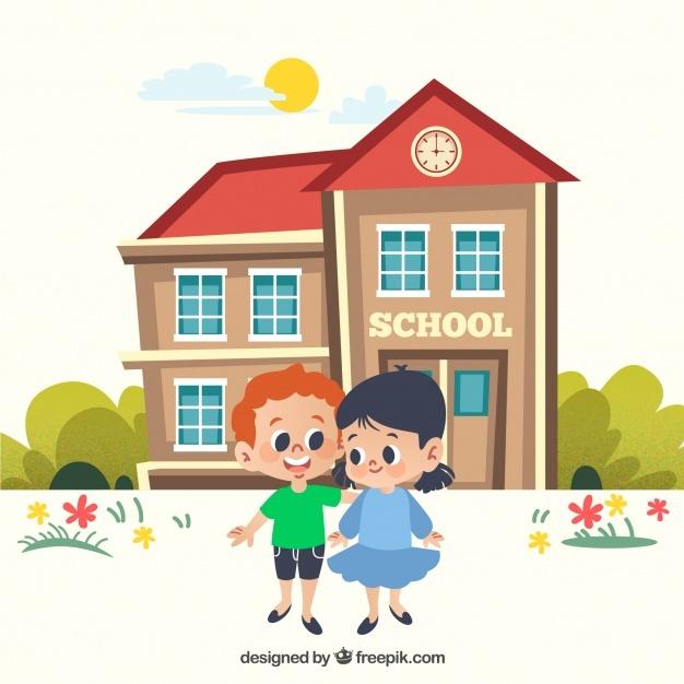 626x626 School Building Vectors, Photos And Psd Files Free Download