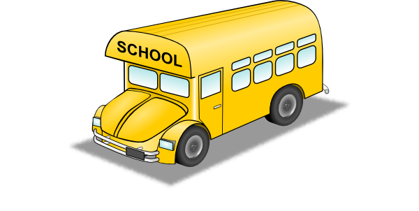 600x302 Collection Of Free School Vector Bus. Download On Ubisafe