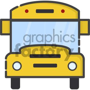 300x300 Royalty Free School Bus Vector Art 404122 Vector Clip Art Image