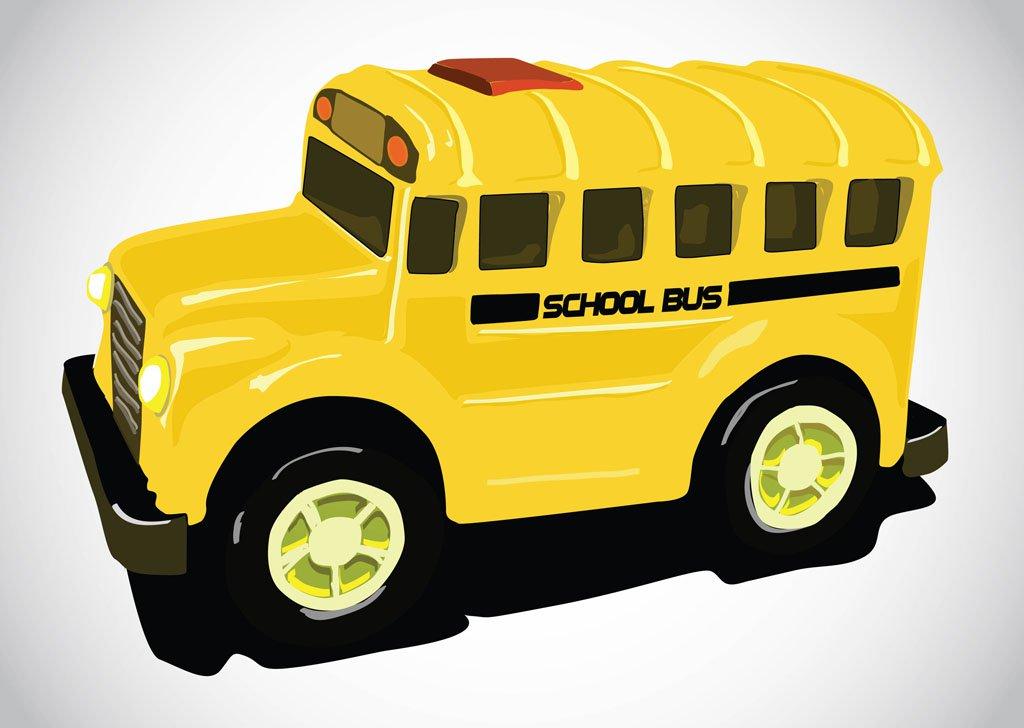 1024x728 School Bus Vector Art Amp Graphics