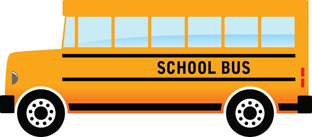 627x276 Bus Cartoon Clipart