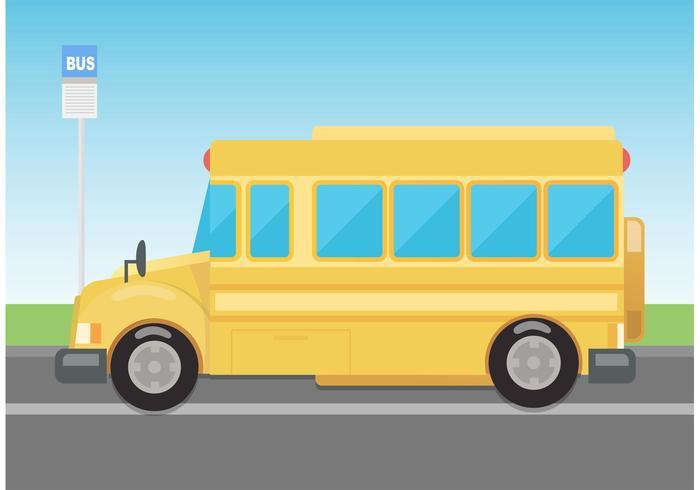 700x490 Vector School Bus