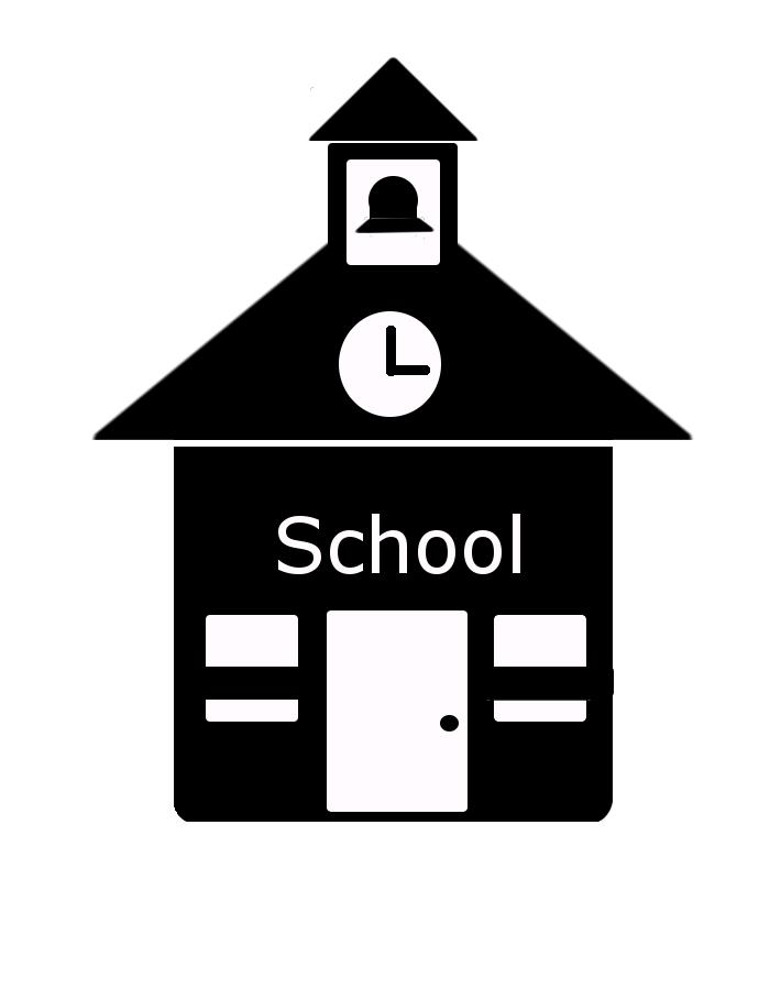 700x900 School House Vector Icon