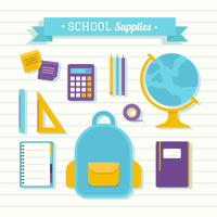 200x200 School Supplies Free Vector Art