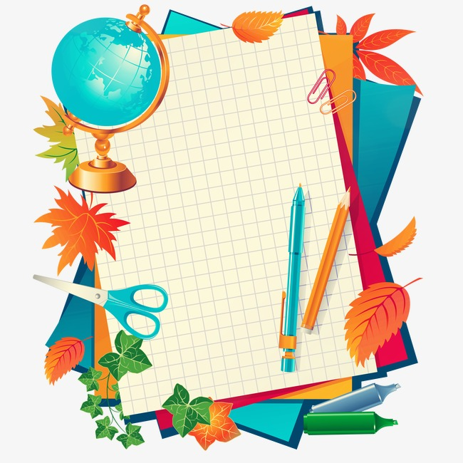 650x650 School Supplies Vector Material, School Supplies, Learning Tools