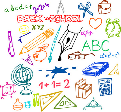 398x368 Set Square School Supplies Free Vector Download (21,061 Free