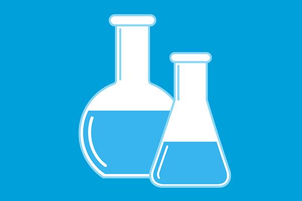 600x400 Vector Science Chemistry Beakers
